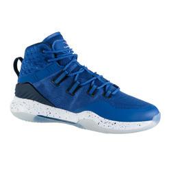 男款高筒籃球鞋SC500-藍色/海軍藍配色