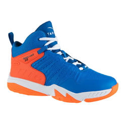 Basketbalschoenen SS500H blauw/rood (kinderen)