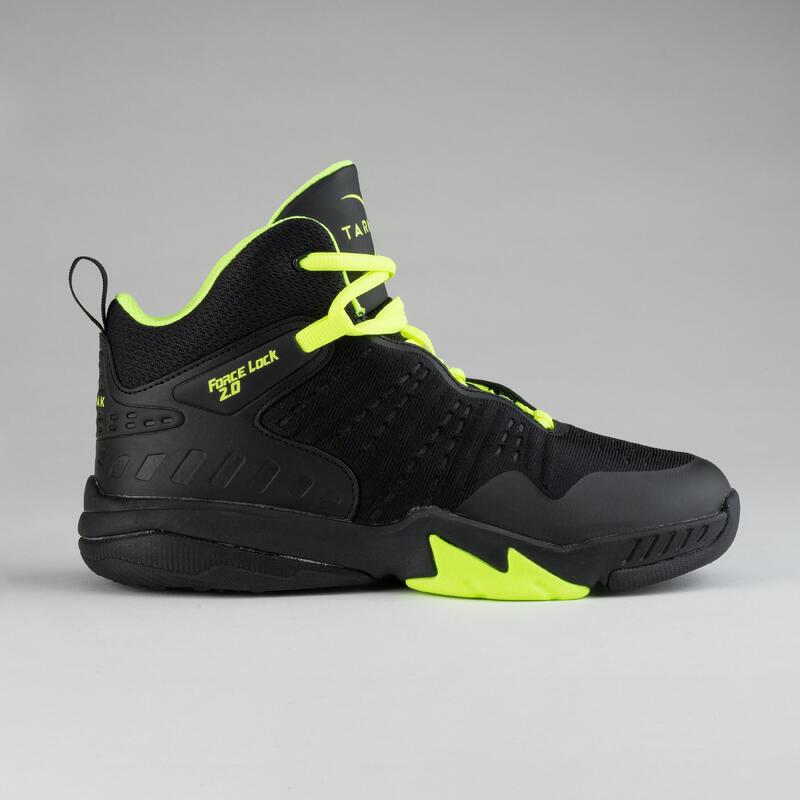 Çocuk Basketbol Ayakkabısı - Sarı / Siyah - SS500H