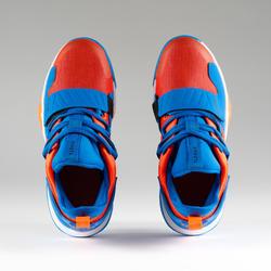 Boys'/Girls' Intermediate Basketball Shoes SS500M - Orange/Blue