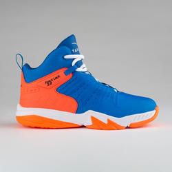 Basketbalschoenen voor gevorderde jongens/meisjes SS500H blauw/rood