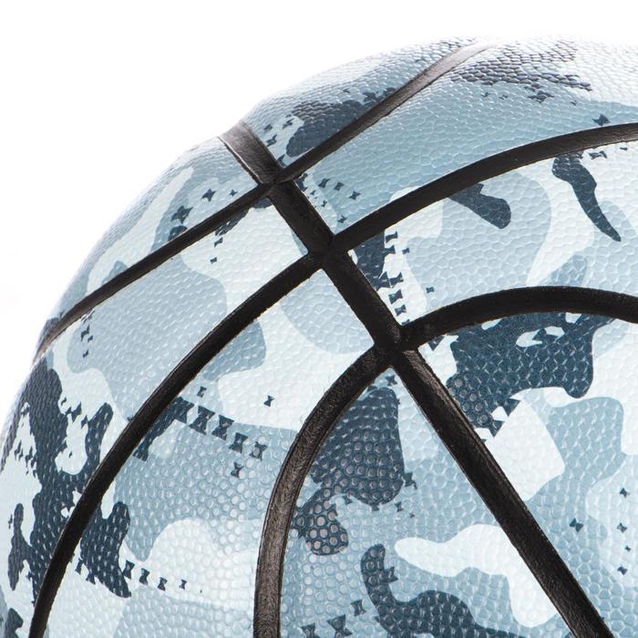 Basketbal BT500 maat 7 Camo Ice Blue
