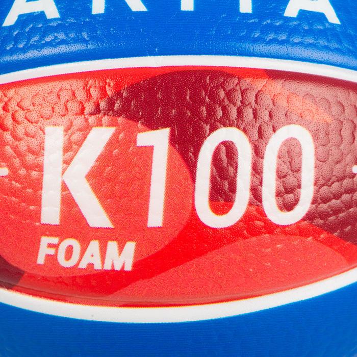 泡棉籃球K100。1號兒童款迷你泡棉籃球。 適合4歲以下的兒童。