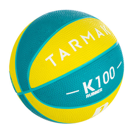 K100 Size 1 Foam Rubber Basketball - Kids Up to age 4.