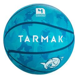 兒童款初學者籃球K500 Aniball-藍綠色