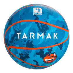 Size 4 Kids' Beginner Basketball Aniball K500 - Blue