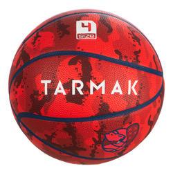 Kids' Beginner Basketball Aniball K500 - Red