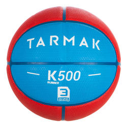 3號兒童款籃球K500-藍色(適合6歲以上兒童)