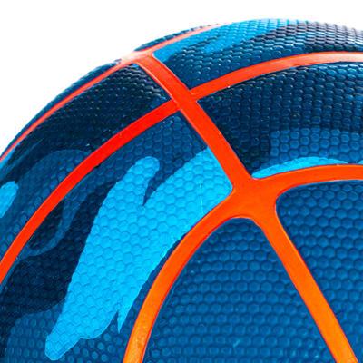 כדורסל לילדים K500 מידה 3 - כחול/צבאי לילדים עד גיל 6