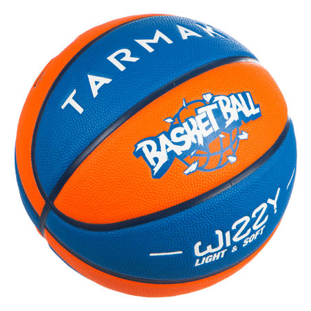 """Bērnu 5.izmēra basketbola bumba """"Wizzy"""", zila/oranža."""