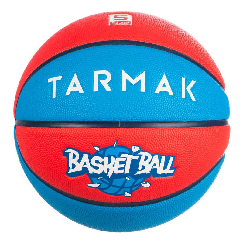 МЯЧИ И ЩИТЫ ДЛЯ БАСКЕТБОЛА ДЛЯ ДЕТЕЙ Баскетбол - Мяч WIZZY Basketball Blue Red TARMAK - Баскетбол