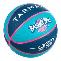 兒童款5號籃球Wizzy-藍色