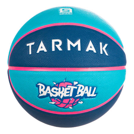 Kids' Size 5 (Up to 10 Years) Basketball Wizzy - Blue/Navy Blue