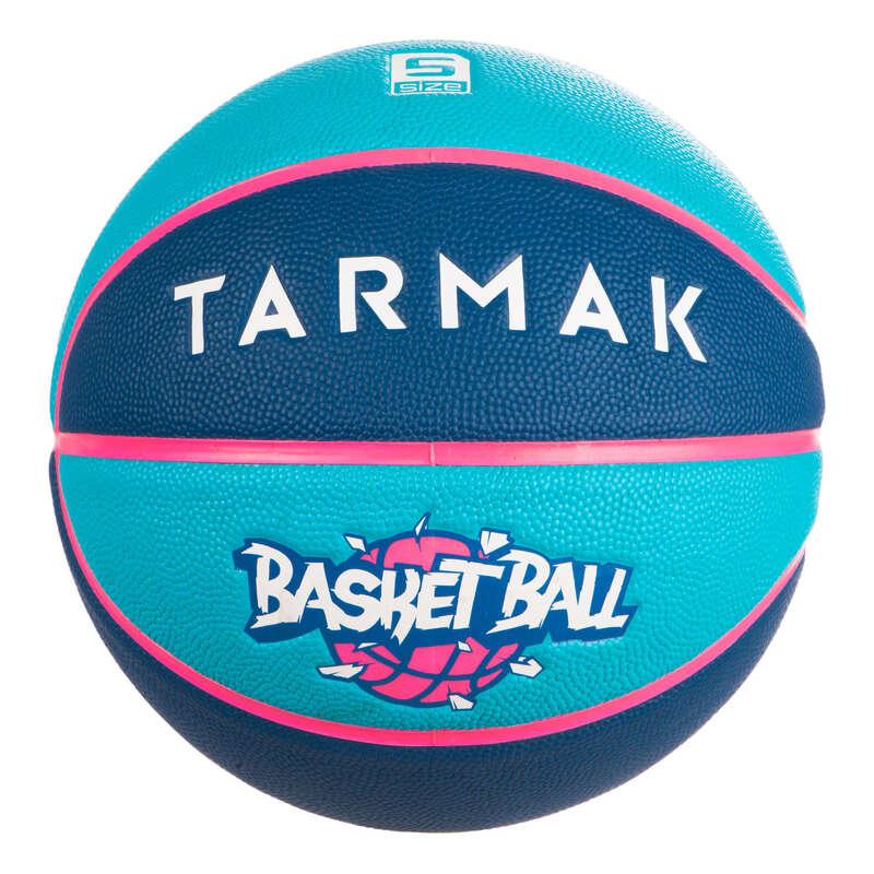 PANIERS & BALLONS BASKETBALL DECOUVERTE Sport di squadra - Pallone basket WIZZY T5 blu TARMAK - Palloni e accessori basket