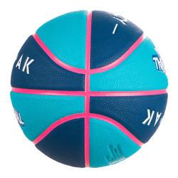 Kids' Size 5 Basketball Wizzy - Blue/Navy