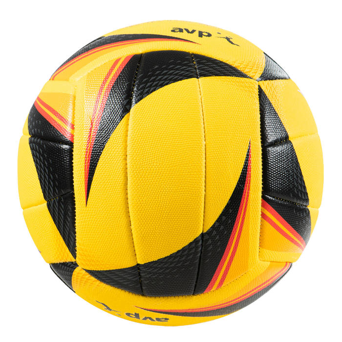 Bal voor beachvolley OPTX Replica geel/zwart
