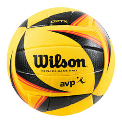Ballon de beach-volley OPTX Replica jaune et noir