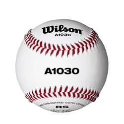 Bola de Basebol A1030 em Couro 9 Polegadas Branco
