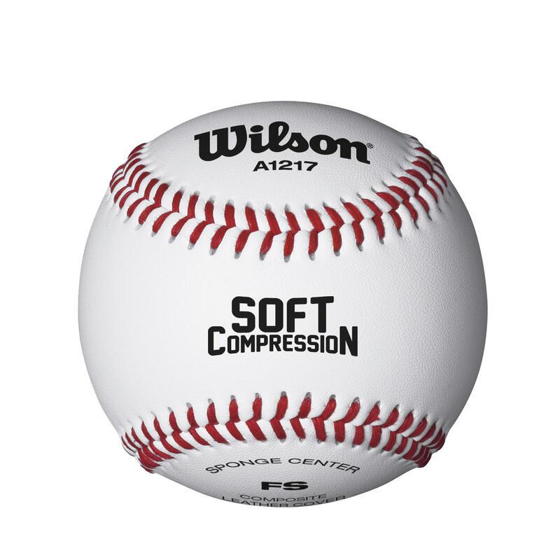 Minge Baseball Soft Compression 9 Inci Alb