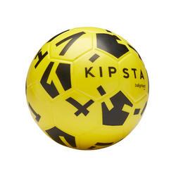Fussball Ballground 500 Schaumstoff Größe 4 gelb/schwarz