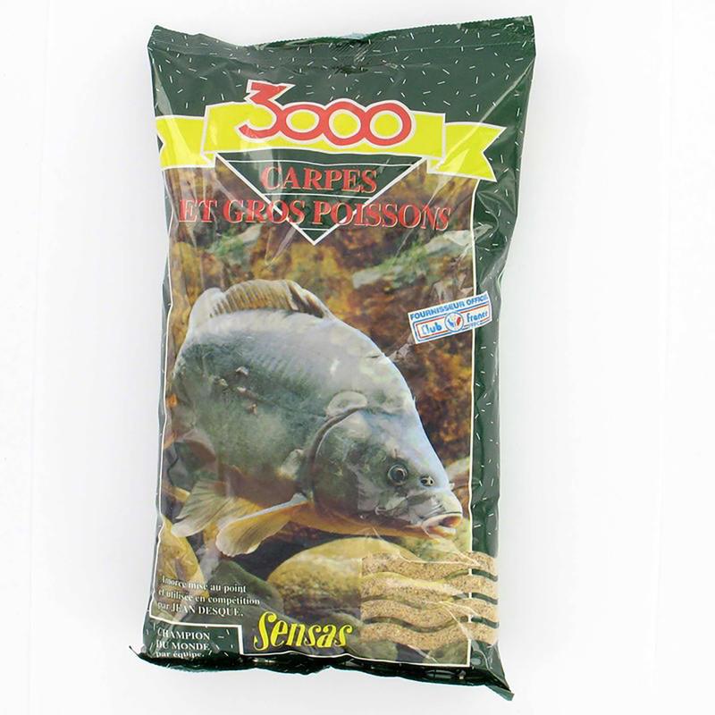 3000 CARP 1 KG Fishing bait