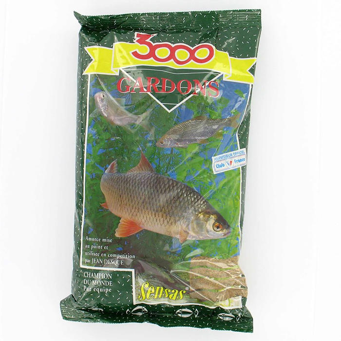 Amorce pêche 3000 GARDON 1 KG