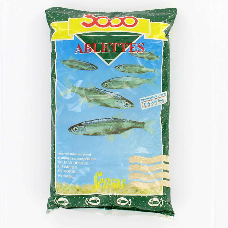 FISHING BAIT, ADDITIVES Fishing - 3000 BLEAK 1 KG SENSAS - Coarse and Match Fishing