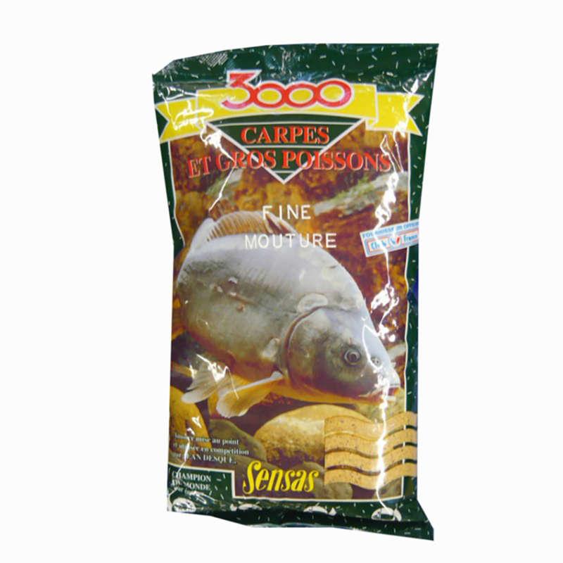 FISHING BAIT, ADDITIVES Fishing - FINE CARP GRIND 1 KG SENSAS - Coarse and Match Fishing
