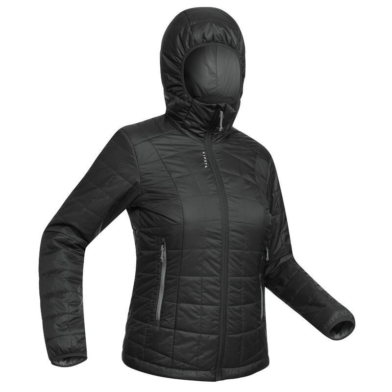 Jachetă fotbal 100 Negru Damă