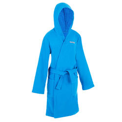 Kids' Cotton Pool Bathrobe - Blue