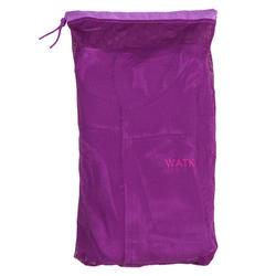 Peignoir de bain à capuche microfibre compact enfant violet