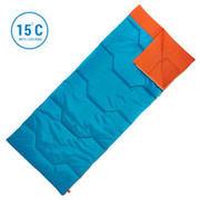 Sleeping Bag Arpenaz 15° - Blue