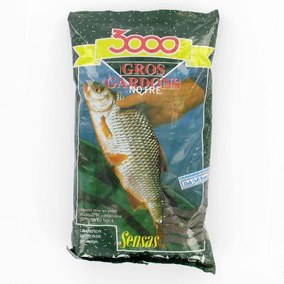 Amorce pêche 3000 NOIRE GROS GARDONS 1 KG