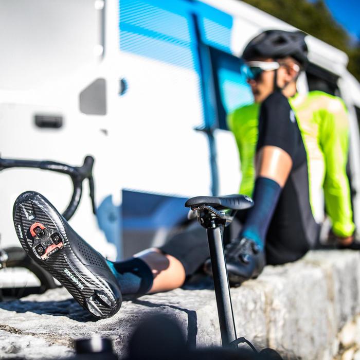 Fietsschoenen wielertoerisme Van Rysel zwart