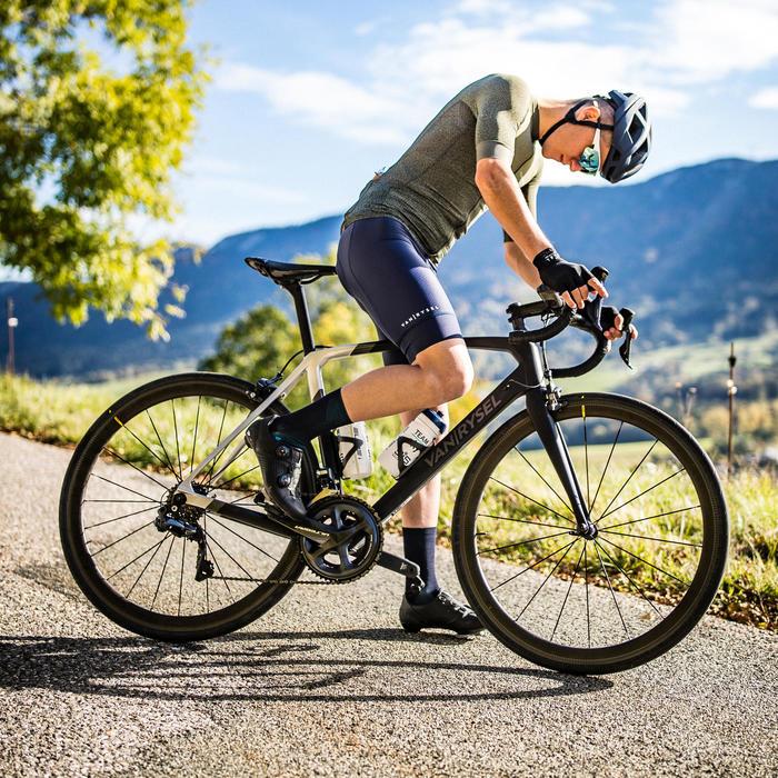 ZAPATILLAS CICLISMO CARRETERA VAN RYSEL ROADR 900 gris iridescente VAN RYSEL  | Decathlon