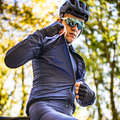 MEN ROAD WINDSTOPPER Cycling - RC 500 Ultralight Windproof Cycling Jacket - Navy Blue VAN RYSEL - Cycling