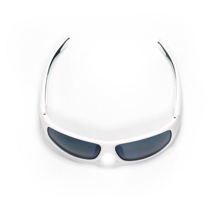 Adult Sailing Polarised Sunglasses 500 Category 3 - White Asian Fit