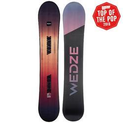 Snowboard Wedze voor piste/freeride heren/dames Bullwhip 700 Dreamscape