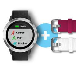 Smart-Watch Vívoactive 3 silber - Weihnachts-Edition