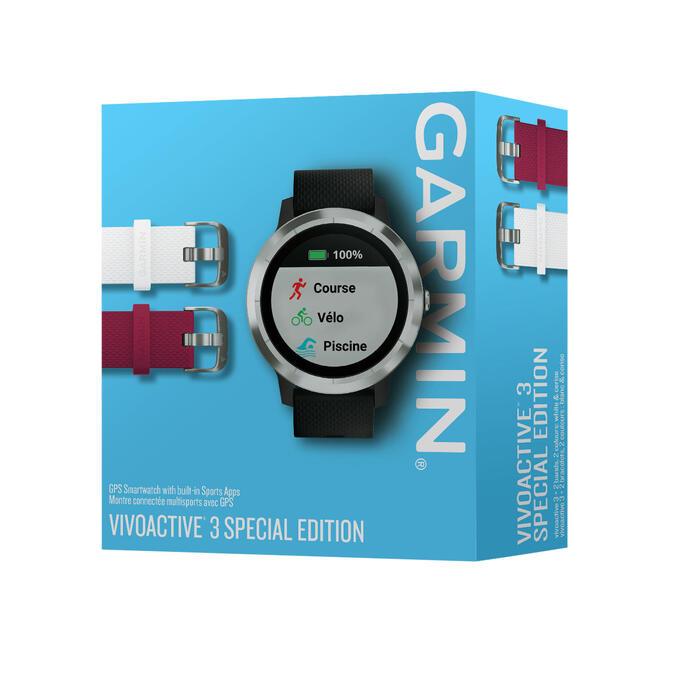 Smartwatch Vivoactive 3 zilver - kersteditie