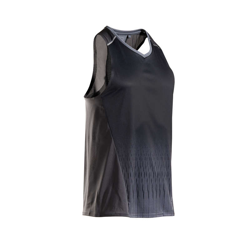 MAN WARM/MILD WEATHER RUNNING CLOTHES Clothing - KIPRUN MEN'S TANK TOP LIGHT KIPRUN - Tops