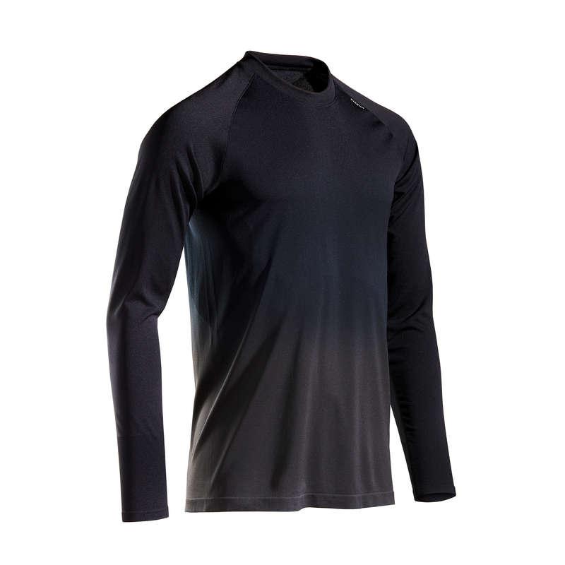 ABBIGLIAMENTO RUNNING LEGGERO UOMO Running, Trail, Atletica - T-shirt uomo KIPRUN CARE nera KALENJI - Running, Trail, Atletica
