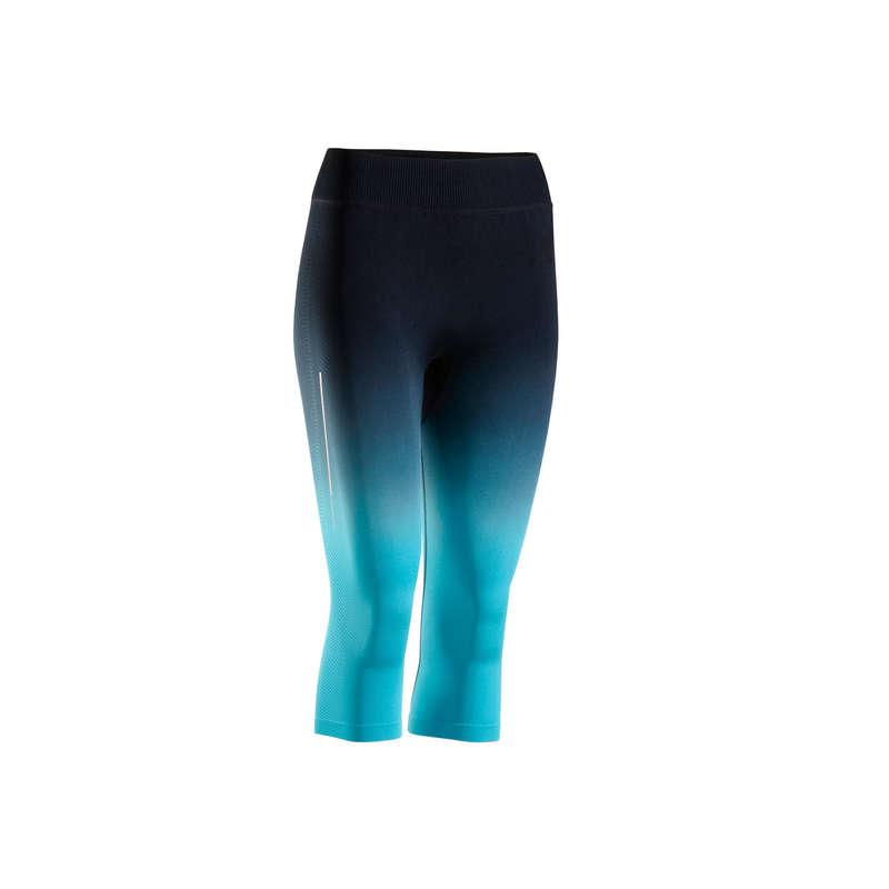 WOMAN WARM/MILD WEATHER RUNNING CLOTHES Clothing - W CROPPED BOTTOMS KIPRUN CARE KIPRUN - Bottoms