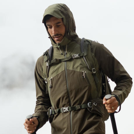 men's waterproof hiking jacket