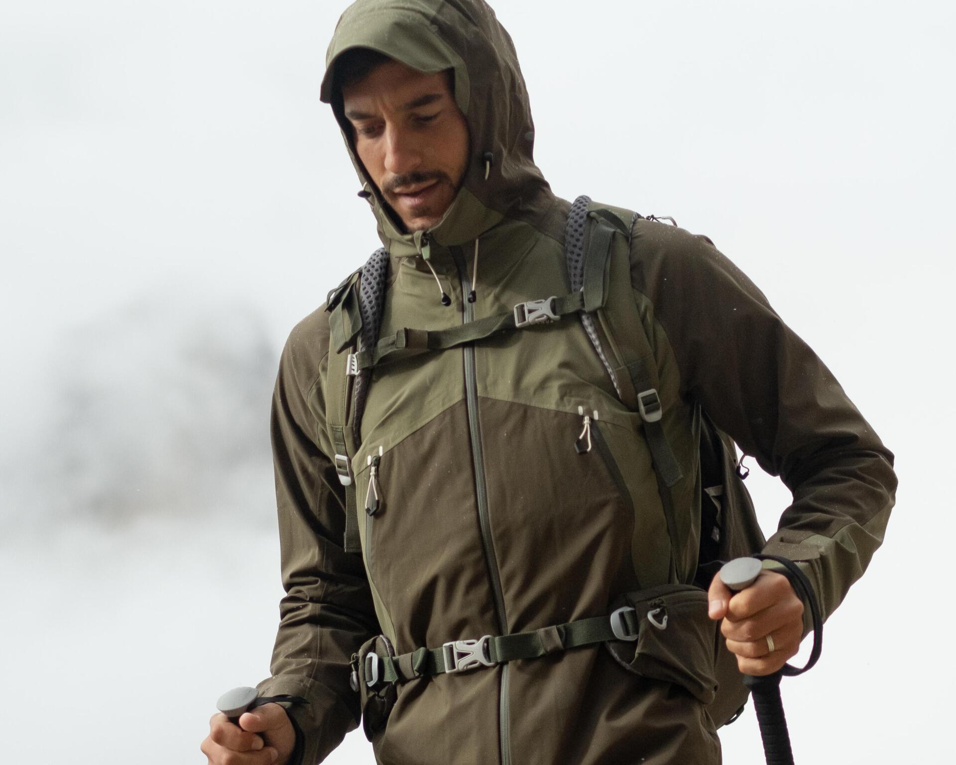 men's waterproof hiking jacket