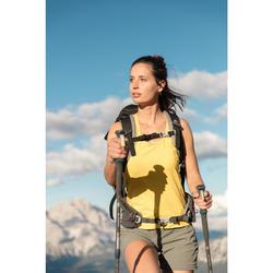 Damestop voor bergwandelen MH500 pruim