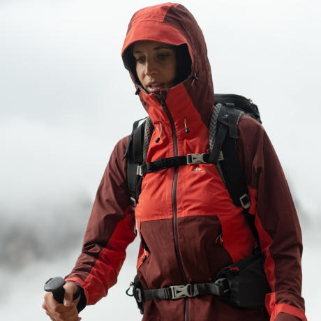 women's waterproof hiking jacket