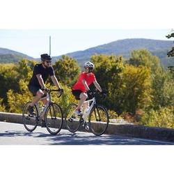 Essential男款公路自行車用短袖車衣-黑色