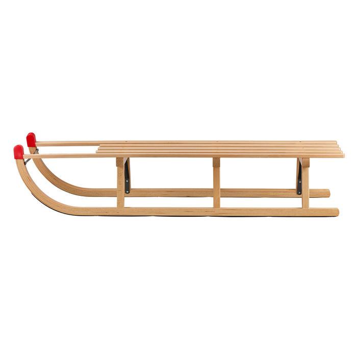 Luge Davos bois traditionelle 120 cm