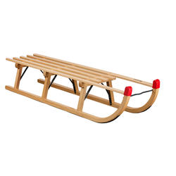 Houten slee Traditional 120 cm